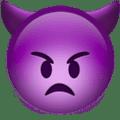 Marah dengan Tanduk Apple