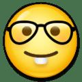 Wajah dengan Kacamata LG