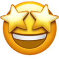 Tersenyum dengan Mata Bintang Apple