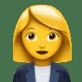 Karyawan Kantor Wanita Apple