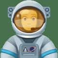 Astronot Pria Facebook