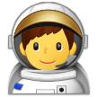 Astronot Pria Samsung