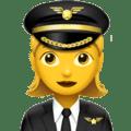 Pilot Wanita Apple