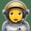 Astronot Wanita Apple