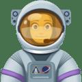 Astronot Wanita Facebook