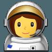 Astronot Wanita Samsung
