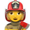 Pemadam Kebakaran Wanita Apple