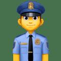 Polisi Pria Facebook