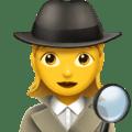 🕵️♀️ Detektif Wanita Apple