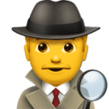 🕵️♂️ Detektif Pria Apple