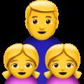 Keluarga Laki Laki Anak Perempuan Anak Perempuan Apple