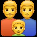 Keluarga Pria Pria Anak Laki Laki WhatsApp