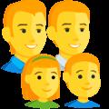 Keluarga Pria Pria Anak Perempuan Anak Laki Laki Messenger 1