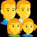 Keluarga Pria Pria Anak Perempuan Anak Perempuan Messenger