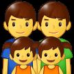 Keluarga Pria Pria Anak Perempuan Anak Perempuan Samsung