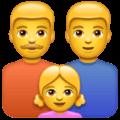 Keluarga Pria Pria Anak Perempuan WhatsApp
