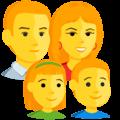 Keluarga Laki Laki Perempuan Anak Perempuan Anak Laki Laki Messenger