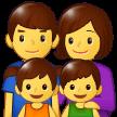 Keluarga Laki Laki Perempuan Anak Perempuan Anak Laki Laki Samsung