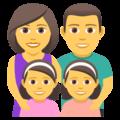 Keluarga Laki Laki Perempuan Anak Perempuan Anak Perempuan