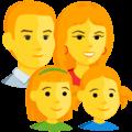 Keluarga Laki Laki Perempuan Anak Perempuan Anak Perempuan Messenger