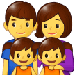 Keluarga Laki Laki Perempuan Anak Perempuan Anak Perempuan Samsung