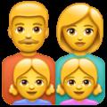 Keluarga Laki Laki Perempuan Anak Perempuan Anak Perempuan WhatsApp