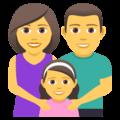 Keluarga Pria Wanita Anak Perempuan