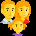 Keluarga Pria Wanita Anak Perempuan Messenger