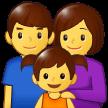 Keluarga Pria Wanita Anak Perempuan Samsung