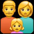 Keluarga Pria Wanita Anak Perempuan WhatsApp