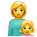 Keluarga Perempuan Anak Perempuan WhatsApp