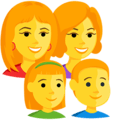 Keluarga Perempuan Perempuan Anak Perempuan Anak Laki Laki Messenger