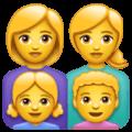 Keluarga Perempuan Perempuan Anak Perempuan Anak Laki Laki WhatsApp