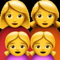 Keluarga Perempuan Perempuan Anak Perempuan Anak Perempuan Apple