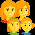 Keluarga Perempuan Perempuan Anak Perempuan Anak Perempuan Messenger