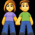 Laki Laki dan Perempuan Berpegangan Tangan Facebook
