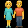 Laki Laki dan Perempuan Berpegangan Tangan WhatsApp
