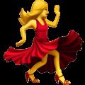 Perempuan Berdansa Apple