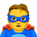 Pahlawan Super Laki Laki Emojipedia