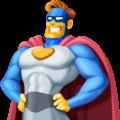 Pahlawan Super Laki Laki Facebook