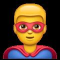 Pahlawan Super Laki Laki WhatsApp