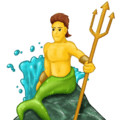 Putra Duyung Emojipedia
