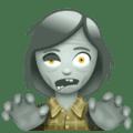 🧟♀️ Zombie Perempuan WhatsApp