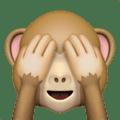 Monyet Jangan Melihat yang Jelek Apple