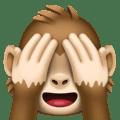 Monyet Jangan Melihat yang Jelek Facebook
