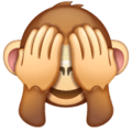 Monyet Jangan Melihat yang Jelek WhatsApp