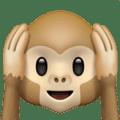 Monyet Jangan Mendengar yang Jelek Apple