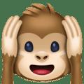 Monyet Jangan Mendengar yang Jelek Facebook