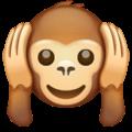 Monyet Jangan Mendengar yang Jelek WhatsApp