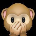 🙊 Monyet Jangan Berbicara yang Jelek Apple